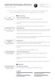Ambassador Cv Brand Ambassador Resume Samples Visualcv Resume Samples Database