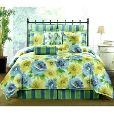 yellow fl comforter bedding sets delectably blue and or duvet bed for yellow fl comforter set and blue