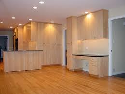 Birch Wood Kitchen Cabinets Kitchen Entrancing Simple Kitchen Design Using Solid Birch Wood