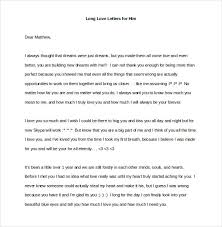 long love letters for him