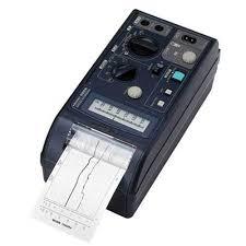 Hioki Chart Recorder Hioki 8206 10 Micro Hicorder 2 Channel True Rms Voltage And