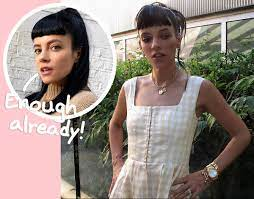 Lily Allen Defends Herself Against Body ...