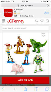 Toy story figurines! I purchased them for $10 at Jcpenney! I'm going