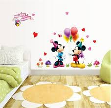 mickey and minnie 3d wall stickers 9