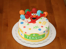12 Elmo Birthday Cakes With Buttercream Frosting Photo Elmo