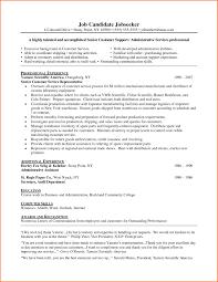 Resume For Customer Service Representative Resume Cover Letter