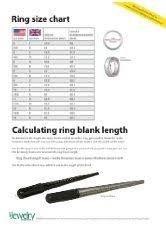 Ring Blank Sizing Chart Uk Ring Size Chart Free Pdf Download Find Standard U S And