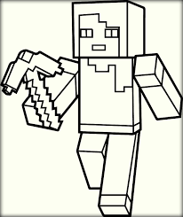 Adult Printable Minecraft Coloring Pages Minecraft Sword Coloring