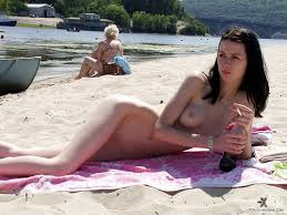 Candid naked girl young