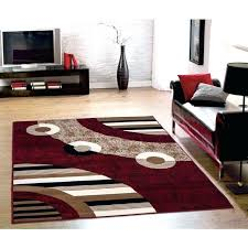 brown and black area rug red and cream area rugs 5 gallery amazing red brown and brown and black area rug