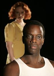all over the map com ato essandoh and carol roscoe in native son © chris bennion