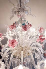 20th century huge venetian murano chandelier with flowers for good looking picture