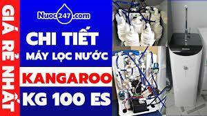 Kangaroo KG100ES - Mở Hộp và Đánh Giá Chi Tiết Máy Lọc Nước Điện Phân nước  RO Ion Kiềm Giá Rẻ 247 ✓ - YouTube