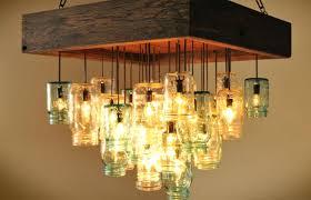 mason jar chandelier at kitchen decoration medium size kitchen canning jar chandelier wrought iron how