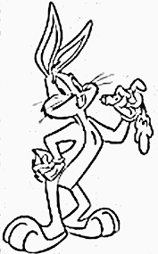 Small Picture Bugs Bunny Coloring Pages coloringsuitecom