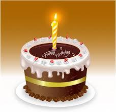 Happy Birthday Cake Free Vector In Adobe Illustrator Ai Ai