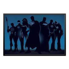 Холст 60x90 <b>Justice League</b>/<b>Лига Справедливости</b> #1657929 от ...