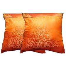 orange accent pillows. Orange Accent Pillows Dark Decorative Polyester Pillow Set Of 2 S