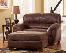unique leather chair and a half with ottoman 34 sofa table ideas with leather chair and