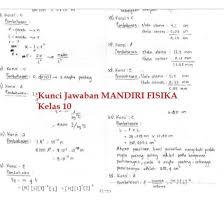 Mar 24, 2019 · kunci jawaban evaluasi bab 2 sejarah indonesia kelas 10 kelompok wajib penerbit erlangga k2013 kunci jawaban sejarah indonesia bab 2 a. Kunci Jawaban Buku Mandiri Fisika Kelas 10 Kurikulum 2013 Cara Golden