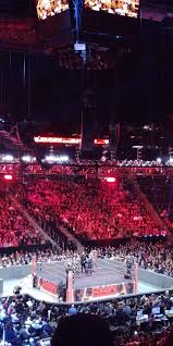 State Farm Arena Section 213 Row E Seat 17 Wwe Monday