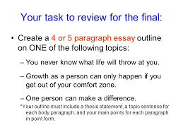 preparation for the multi paragraph portion of the exam ppt  19 your