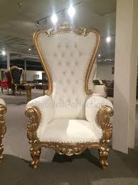 king and throne chairs for throne chair ivory w gold trim als new orleans la