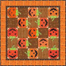 FREE Appliqué Designs for Fall & Jack O'Lantern Quilt: Free Pattern on Craftsy Adamdwight.com