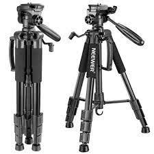 Neewer Taşınabilir 56 Inches/142 Cm Alüminyum Kamera Tripodu 3-Yollu Döner  Pan Kafa + Canon Nikon Için Taşıma Çantası Sony DSLR Kamera  Limitedchoices.news