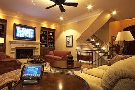 home theater lighting design. Casual Family Room Media Home Theater Lighting Design