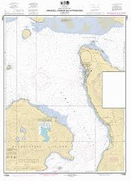 Alaska Nautical Charts Wrangell Harbor And Approaches Marine Chart Us17384_p2707