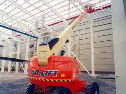 600aj articulating boom lift jlg 600aj