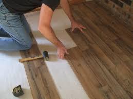 decor of installing vinyl plank flooring on concrete how to