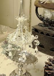 Christbaumschmuck Glas Kristall Kronleuchter Weihnachten