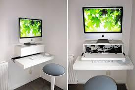 wall mounted desk diy computer desk