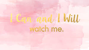2560x1440 i can and i will desktop wallpaper pink pastel
