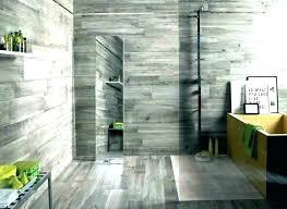 plank tile shower gray plank tile shower wall wood look tile shower surround