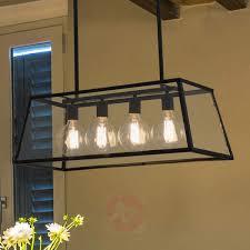 industrial look lighting. Four-bulb Rose Hanging Lamp In Industrial Look-3507193-31 Look Lighting