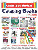 Creative Haven Coloring Books for Adults: <b>Country Farm</b> - Country ...