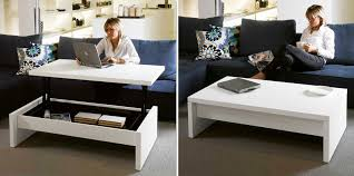 Gallery of Awesome coffee table converts to desk