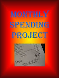 Project On Family Budget For A Month Monthly Spending Project For Personal Finance