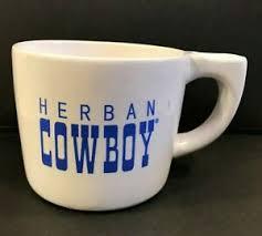 Dallas cowboys coffee mug colors: Herban Cowboy Coffee Mug White Blue Ebay