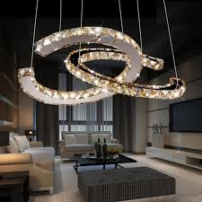 unique restaurant lighting ideas leds. Chandelier Light For Living Room Free Shipping 2016 Kabo Sen Circular Led Restaurant Creative Minimalist Dining Lighting Crystal Unique Ideas Leds D