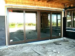 brilliant door blinds for large sliding glass doors triple door chic in triple sliding glass door