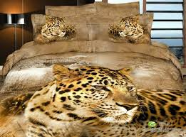 african leopard yellow bedding animal print bedding 3d bedding animal duvet cover set