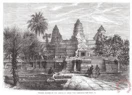 angkor wat cambodia 1868 painting others angkor wat cambodia 1868 art