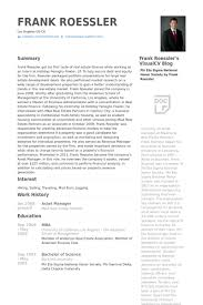 asset manager resume samples central head corporate communication resume