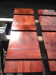 Diy Exterior Window Shutters Diy Shutters 1x6 Pine Slats Cut To Size For Windows In Front Of