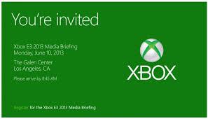Microsoft Invitation Microsoft Starts Sending Invitation For Its Pre E3 Xbox Press Event