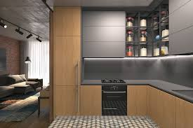 Small Kitchen For Studio Apartment 5 Small Studio Apartments With Beautiful Design